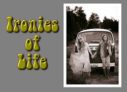 Title for Paul Race's song 'Ironies of Life'